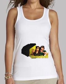 SimmerCraft   Camiseta Chica