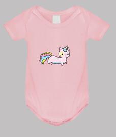 simpatico gatto unicorno