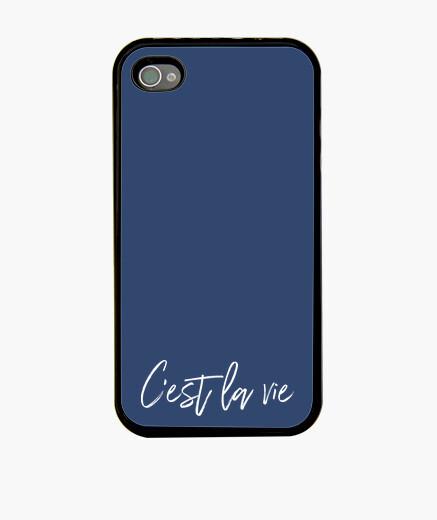 Funda iPhone Simple C'est la Vie