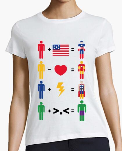 Camiseta Simple Heroes