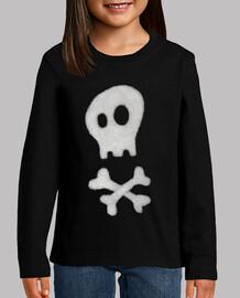 Simple skull and crossbones, infantil