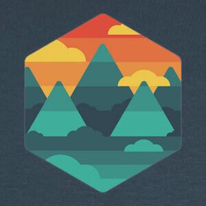 simplemente paisaje T-shirts