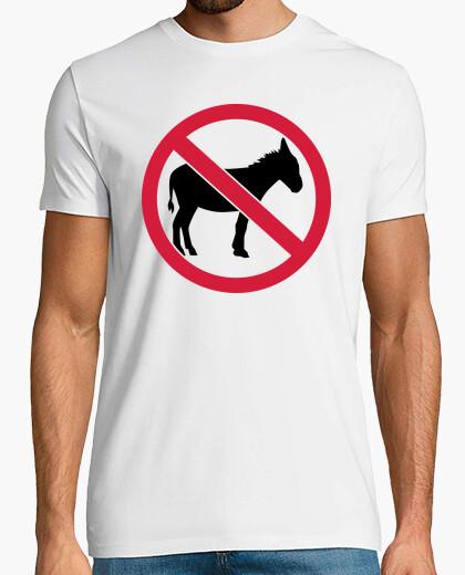Camiseta sin burro