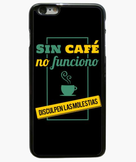 Funda iPhone 6 Plus / 6S Plus Sin café no funciono, disculpen las mole 6 Plus negro
