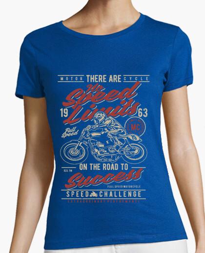 Camiseta sin límites de velocidad