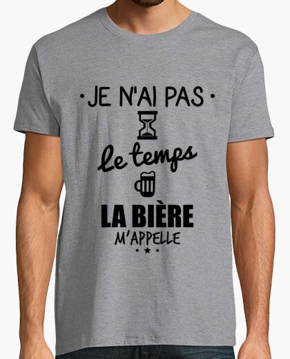Camiseta sin tiempo de cerveza