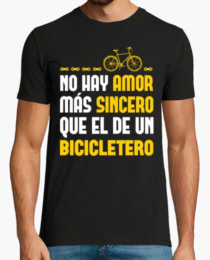 Tee-shirt sincère amour bicicletero