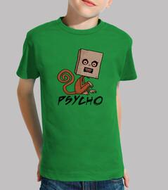 singe psycho-sac avec texte