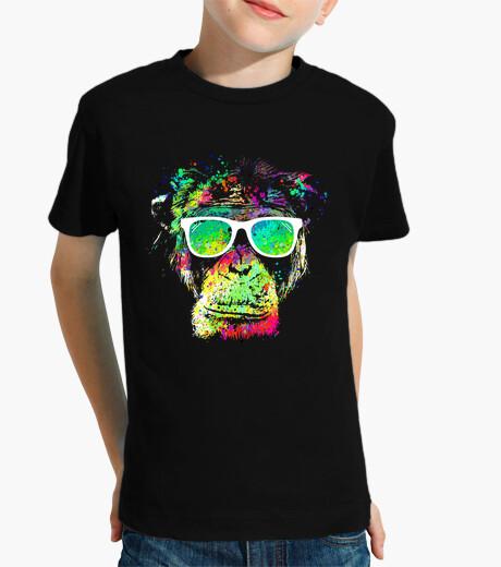 Vêtements enfant singe technicolor