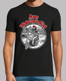 Singes noir club de moto