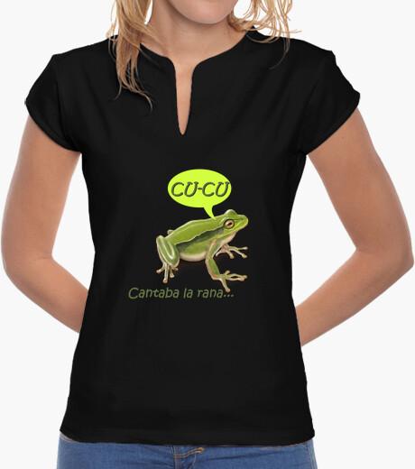 Singing frog t-shirt