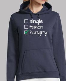 single extraído hambre (blanco)