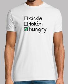 single taken hungry (black)