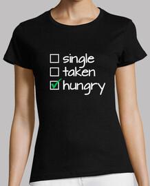 single taken hungry (white)