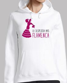 Singolo addio ballerina di flamenco