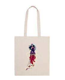 sirena - borsa di grandi dimensioni