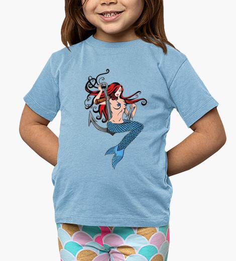 Vêtements enfant sirène