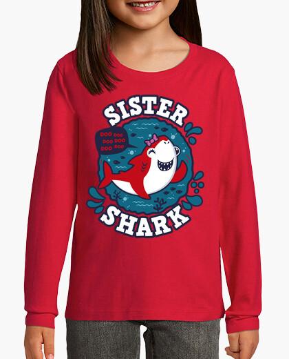 Ropa infantil Sister Shark trazo