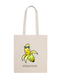 Skabanana, un divertido personaje fruta con cuerpo de banana o plátano
