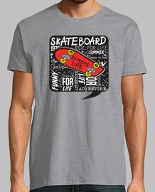 skateboard design urbain