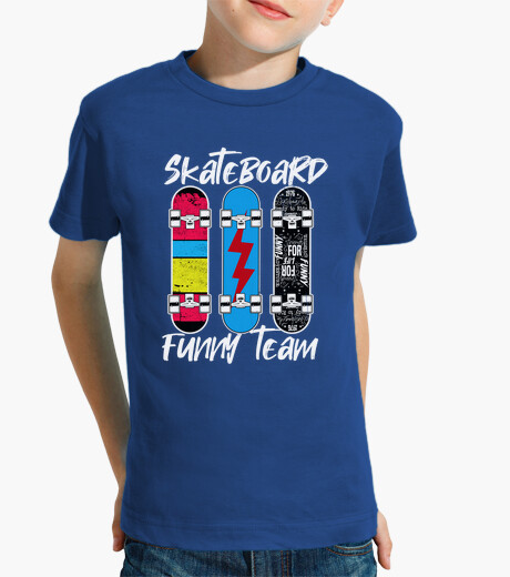 Ropa infantil Skateboard Funny Team Kids Clothing