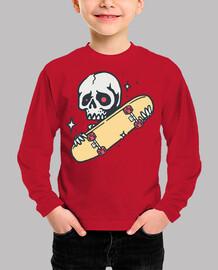 skateboard skull love