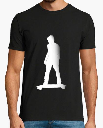 Camiseta skater black roly