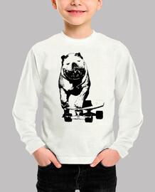Skater dog