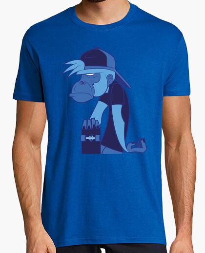 Camiseta skater monkey