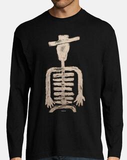 skeleton-uomo manica lunga
