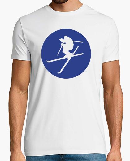 Tee-shirt ski acrobatique