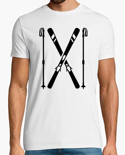 Tee-shirt ski franchi