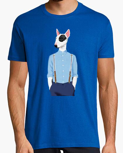 Tee-shirt skinhead bull terrier