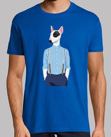 skinhead bull terrier