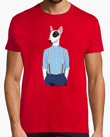 Tee-shirt Skinhead Bull Terrier Blue/grey