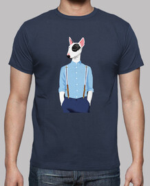 Skinhead Bull Terrier Blue/grey