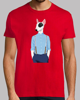 Skinhead Bull Terrier Red
