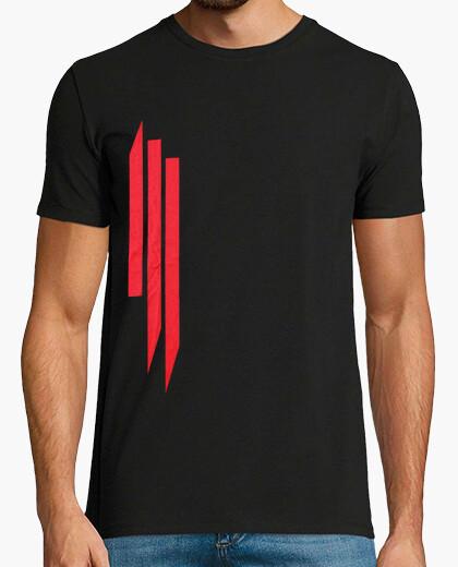 Camiseta Skrillex logo.