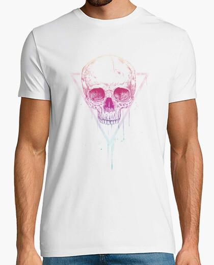 T-shirt skull a triangolo