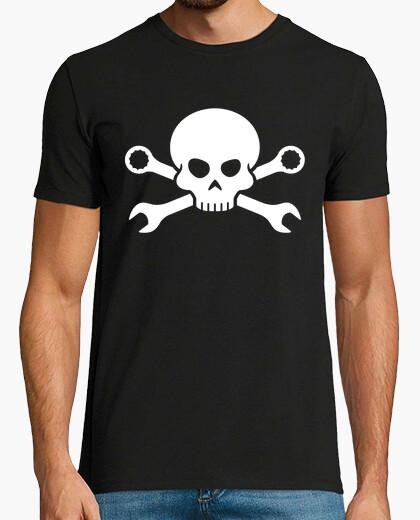 Skull and bones - pirate screw 1 (bla t-shirt