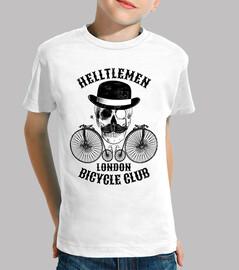 skull and vintage bicycle