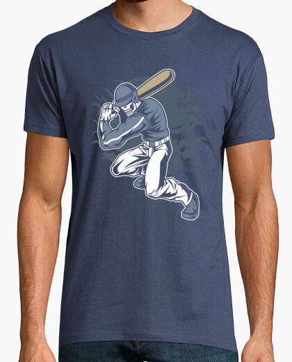 Camiseta Skull Baseball