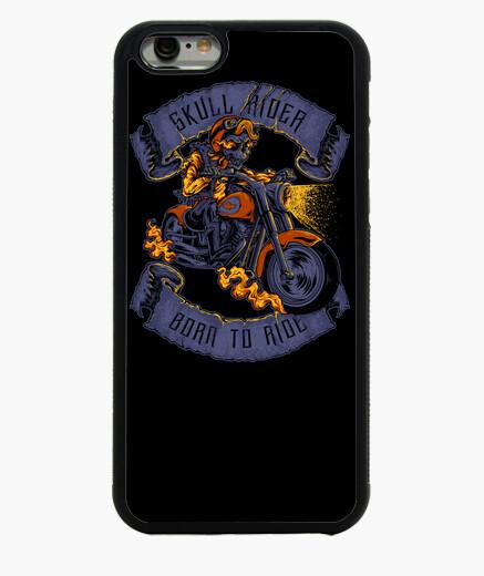Funda iPhone 6 / 6S Skull Biker