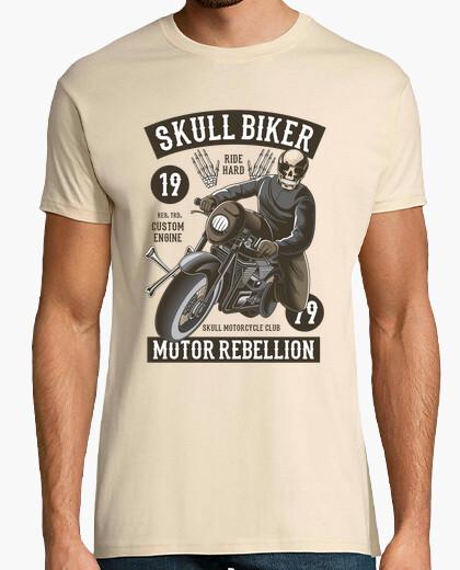 Camiseta Skull Biker