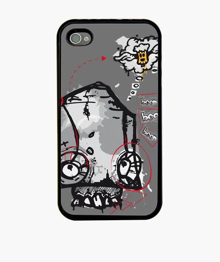 Cover iPhone skull birra p