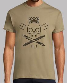 skull design nero