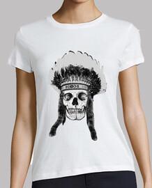 skull e indian copricapo