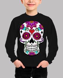 skull floreale