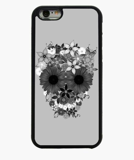 Funda iPhone 6 / 6S Skull flowers