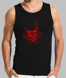 Skull ghost red (H)